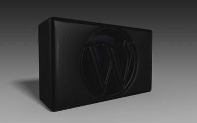 Wordpress Cube 3D