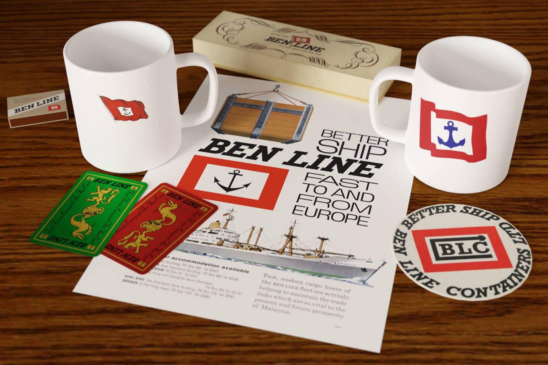 Ben Line promotional items
