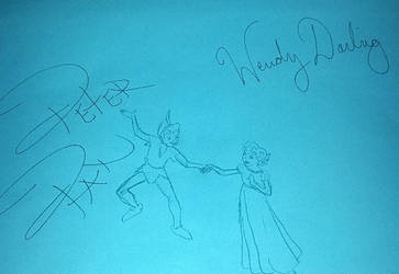 Peter Pan and Wendy - Magic Kingdom by TheSapphireDolphin