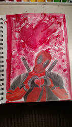 Year of the Superhero - Deadpool by TheSapphireDolphin