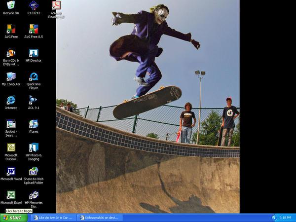 desktop screen shot 2 by Kichisama666