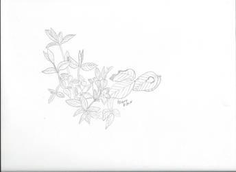 flower sketch by Kichisama666