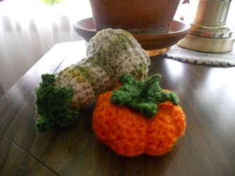 Squash and pumpkin by Kichisama666