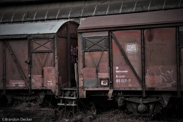 Relics of the German Federal Railways by branicarimages