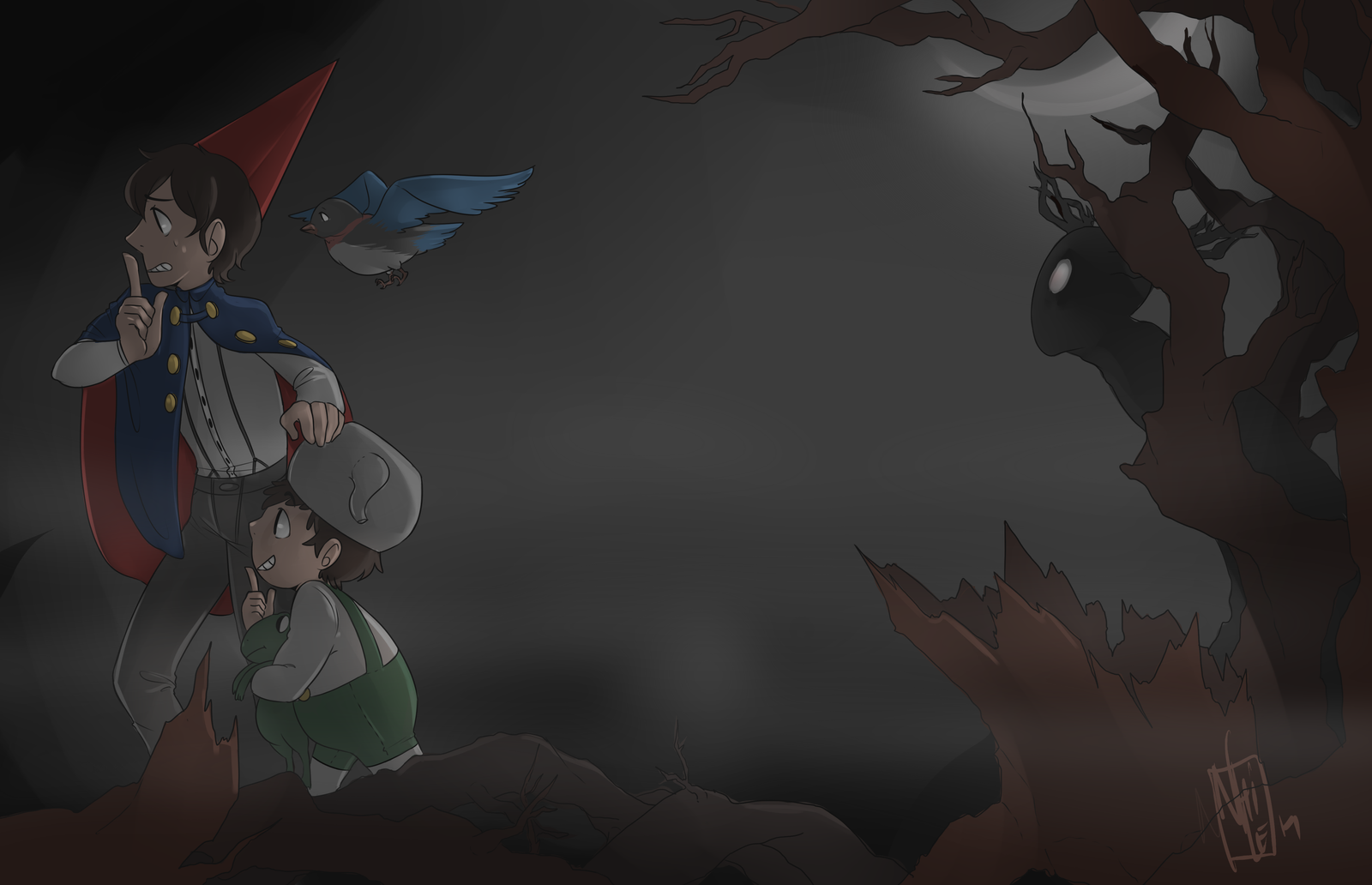 Over The Garden Wall Beast By Nhiwi On Deviantart