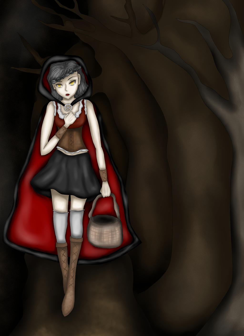 Red Riding Hood by Arqenloce