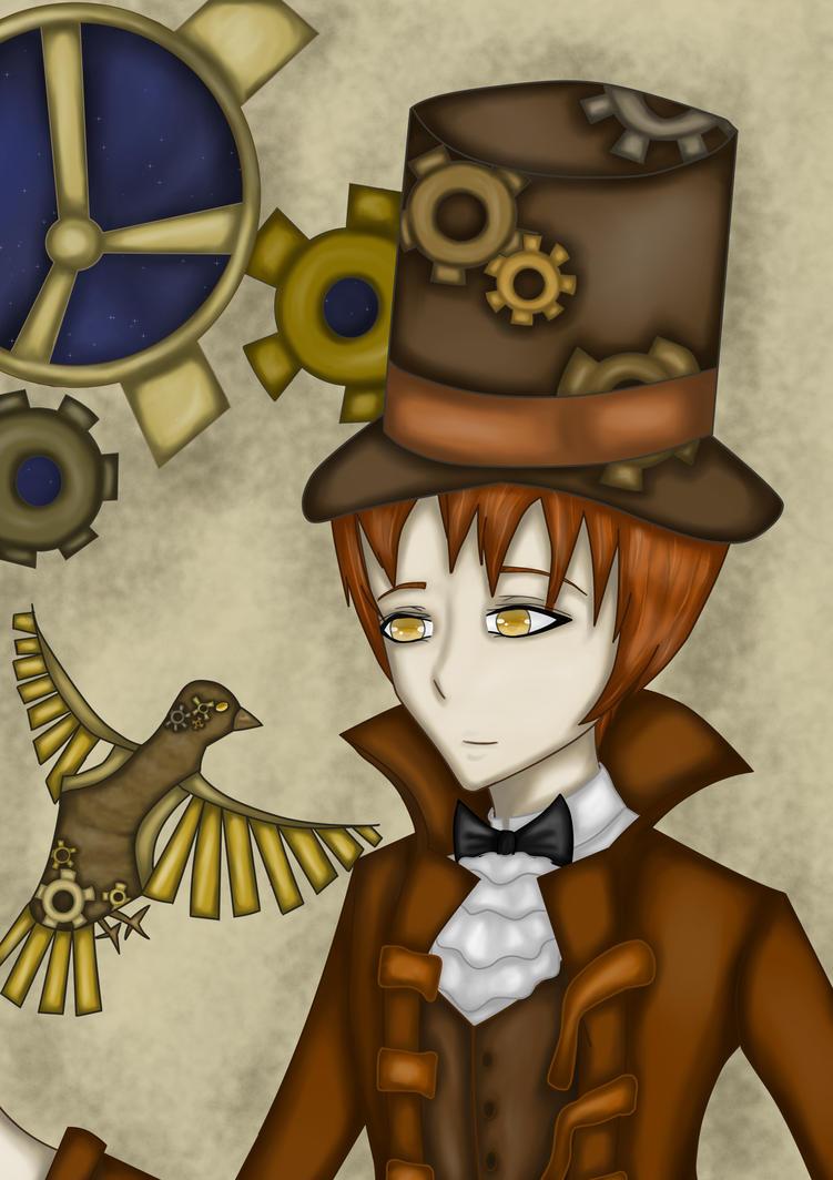 My Mechanical Bird by Arqenloce