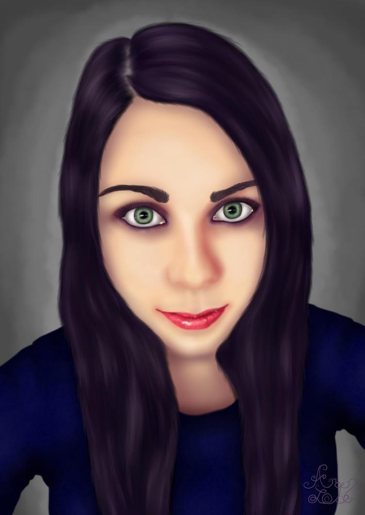 Self  Portrait by Arqenloce