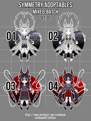 [temporarily closed][auction][3/4]symmetry set-02 by areahnapan