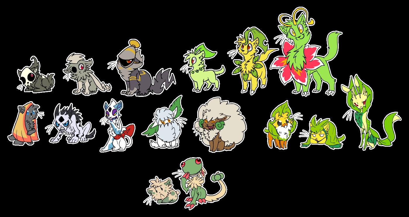 Displaying Images For - Pokemon Snorunt Evolution   Sewaddle Pokemon Evolution