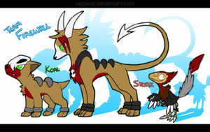 Koal and Stork: Unexpected Return by VazlaKat