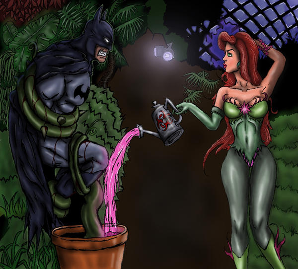 how to draw poison ivy from batman