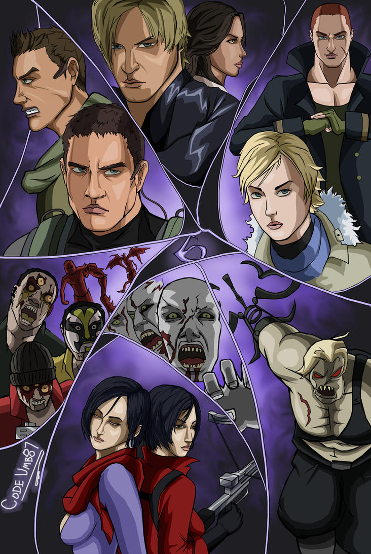 Resident Evil 6 by CODE-umb87