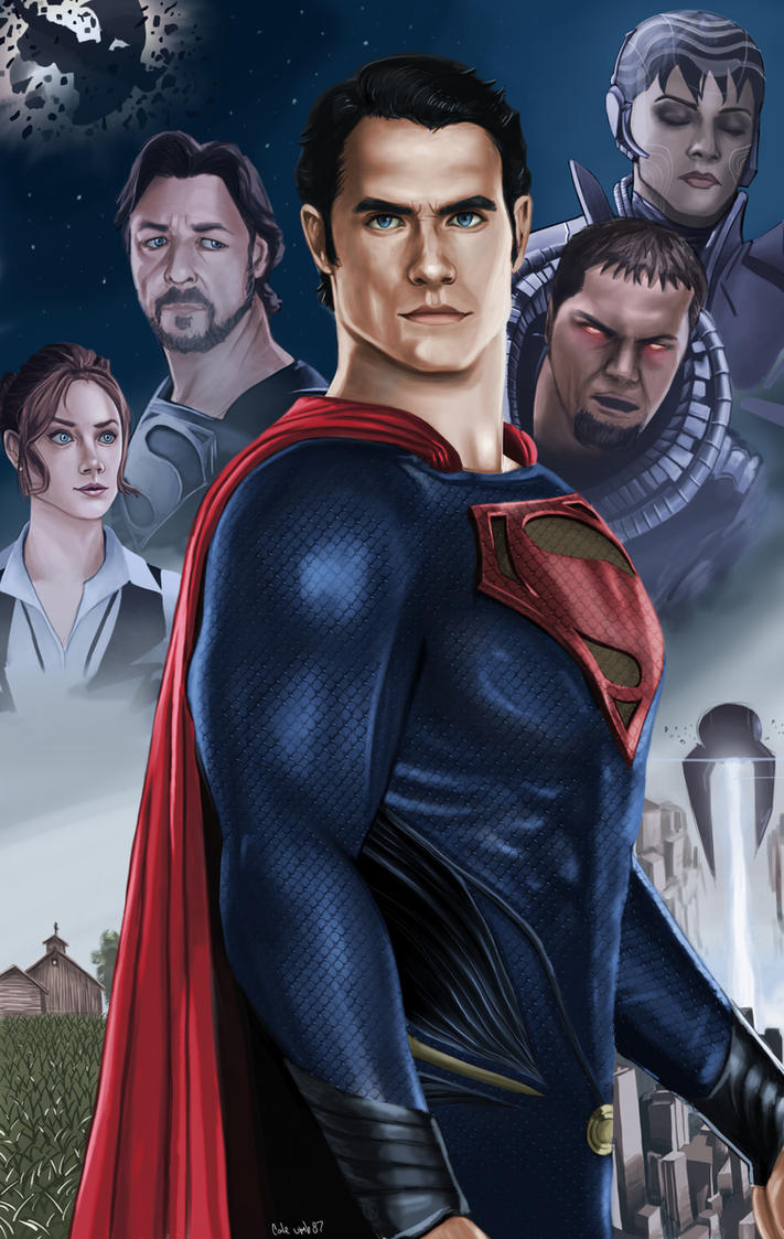 Man of Steel by CODE-umb87