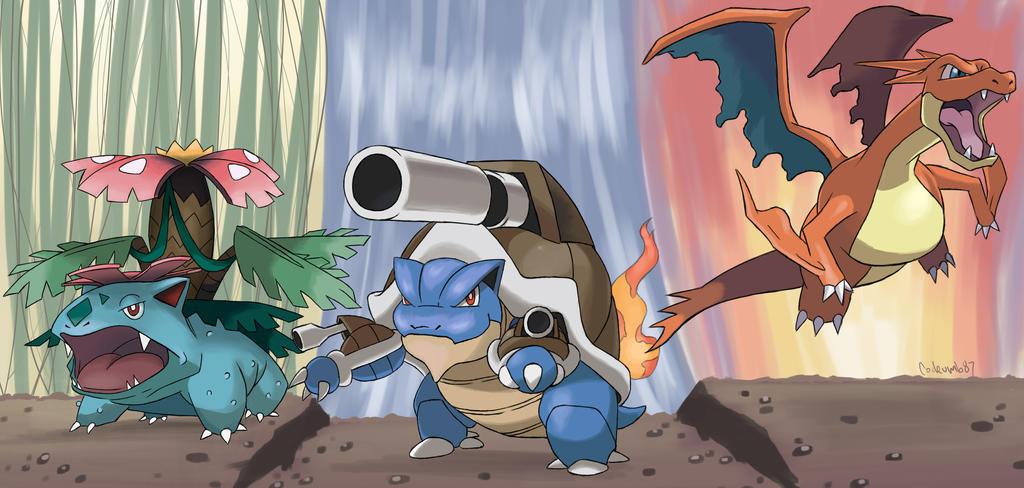pokemon kanto starters mega - photo #9