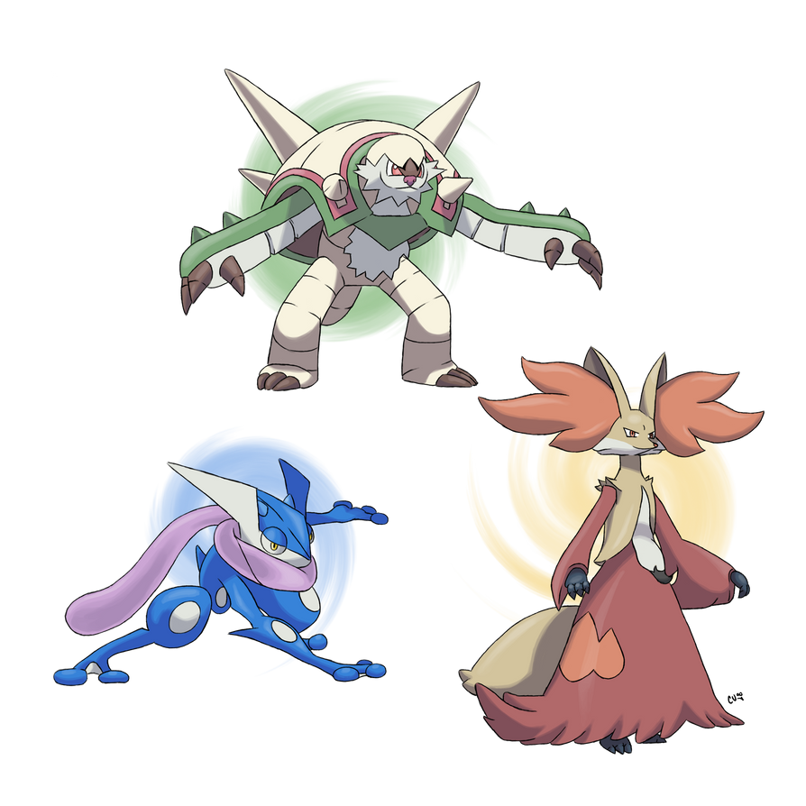 Pokemon x y starters 39 final evolutions by code umb87 on deviantart - X evolution pokemon ...