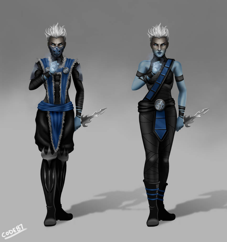 MK11 Frost Concept By CODE-umb87 On DeviantArt