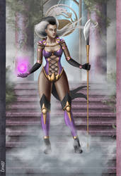 My Concept Art for Sindel by CODE-umb87