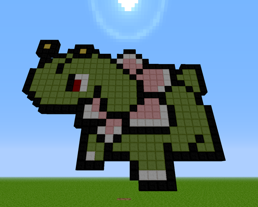Pictures of Minecraft Pixel Art Pokemon Grid Squirtle