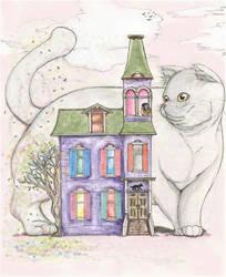 House Cat by CelesteLunaR53L