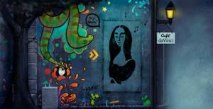 Streetart short film - BG 4 by typesprite