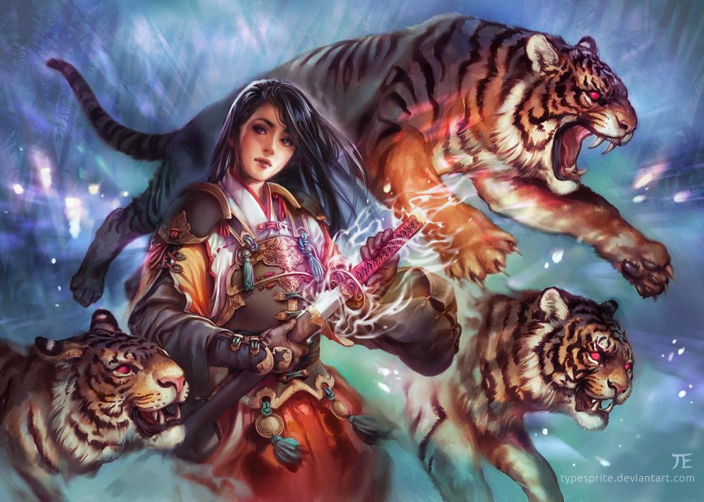 Tiger by typesprite
