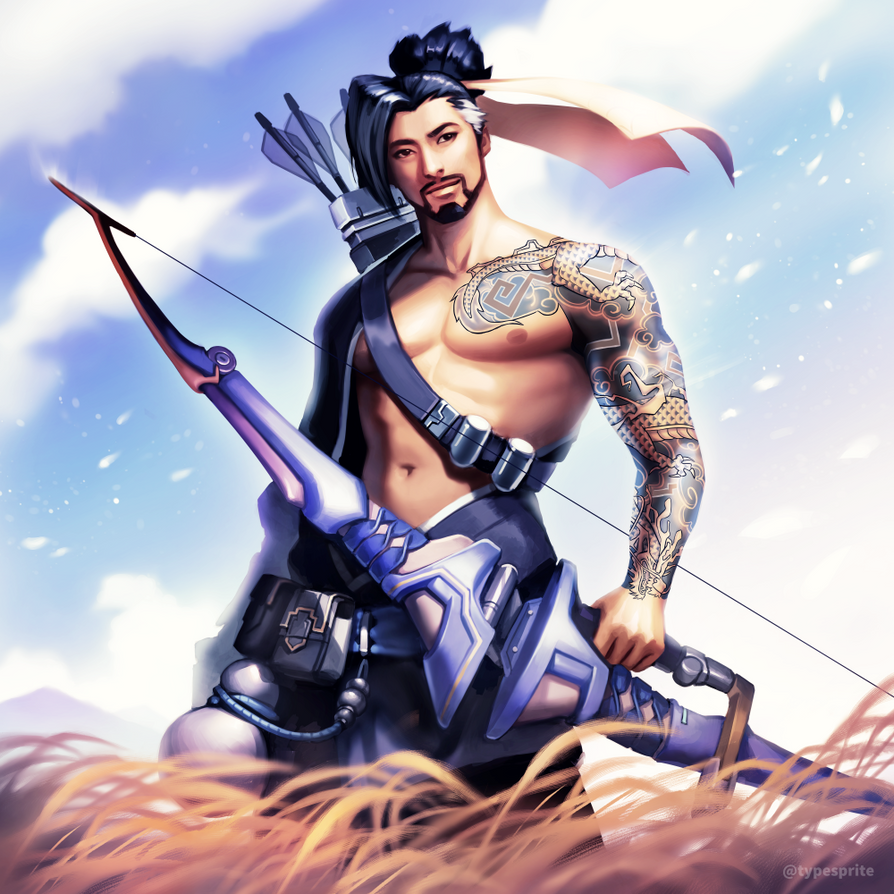 Hanzo by typesprite