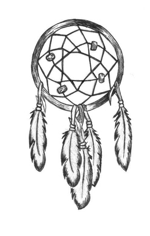 How To Draw A Simple Dream Catcher DV Dreamcatcher by deathvixen on DeviantArt 38