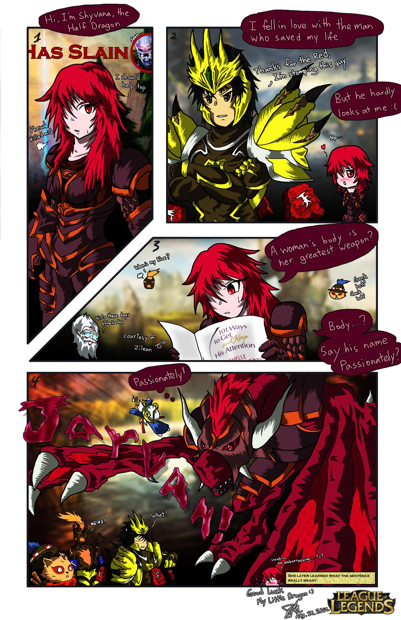 LoL: My Little Dragon Maiden by ZetaZero