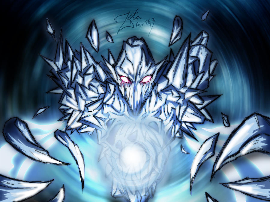 Ice Vortex by ZetaZero