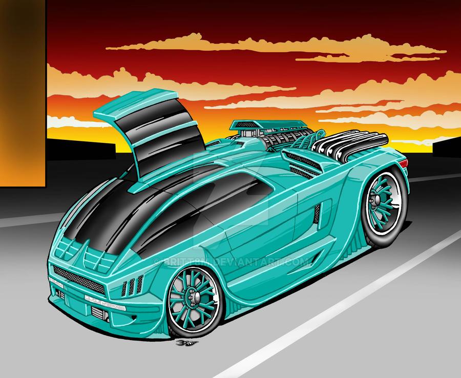 hot rod mini van by britt8m on deviantart. Black Bedroom Furniture Sets. Home Design Ideas