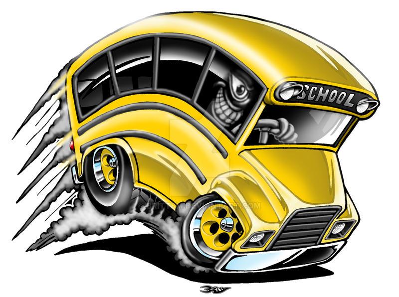Lil Yellow School Bus by Britt8m on DeviantArt