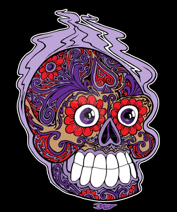 Sugar Skull by Britt8m