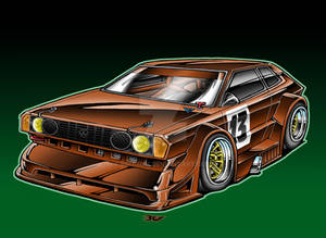 1973 VW Scirocco Race Car