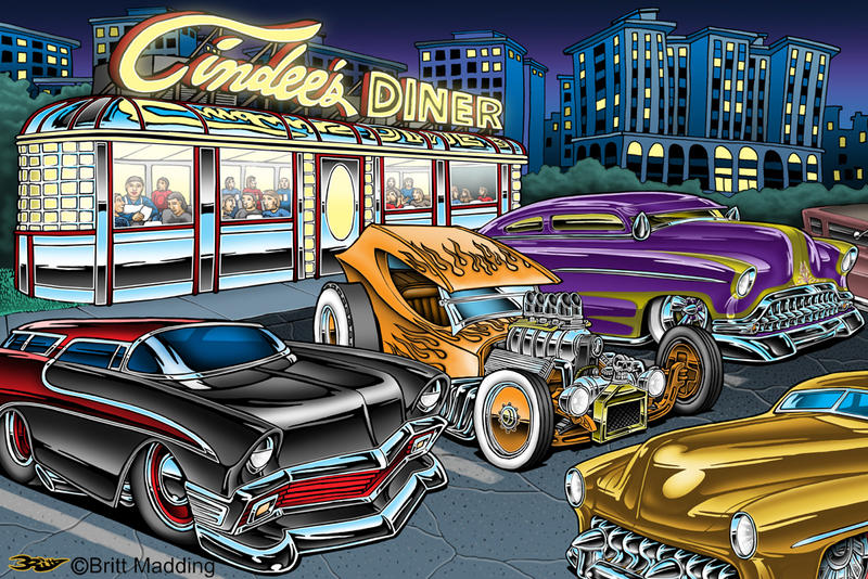 Cindee's Diner by Britt8m