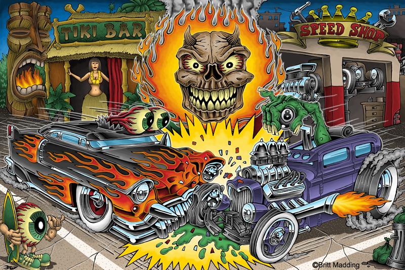El Diablos Hot Rod Curse by Britt8m