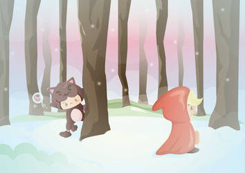 little red riding hood by sayhelloriot