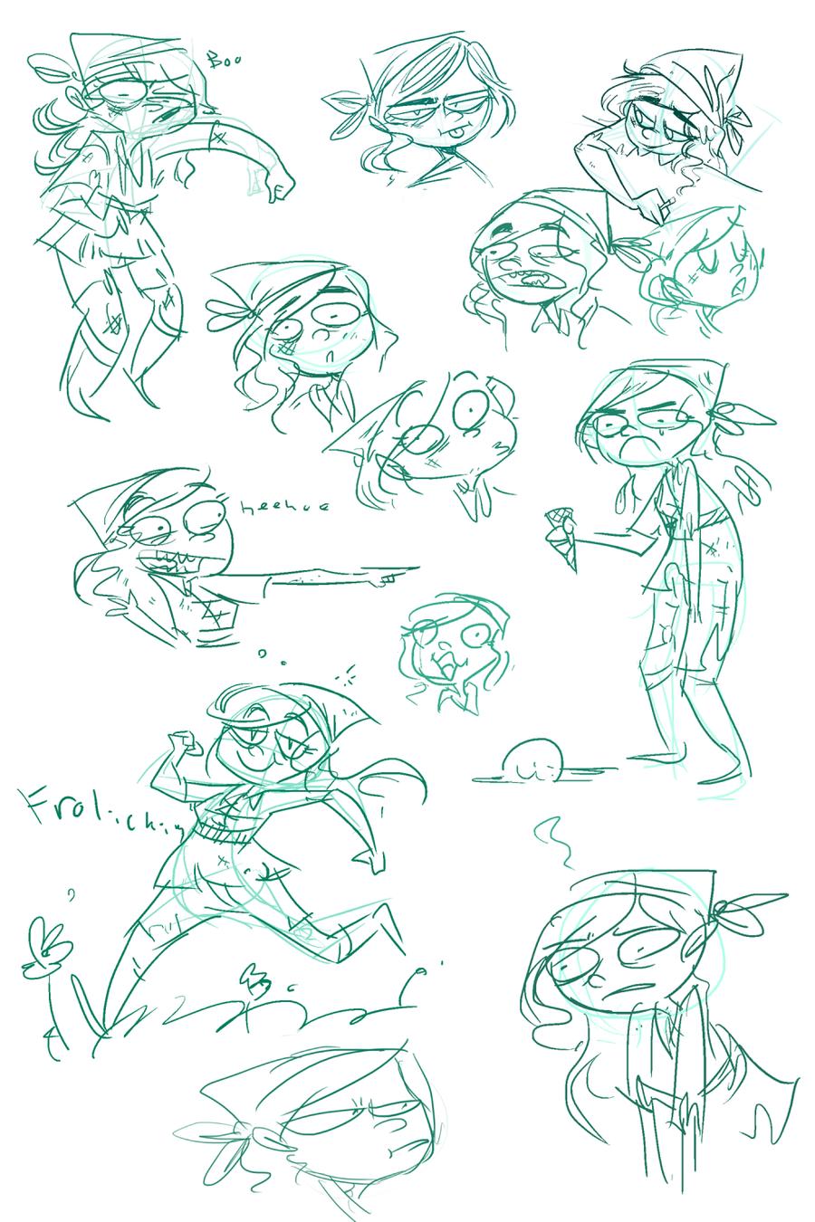 vinnie doodles by FailTaco