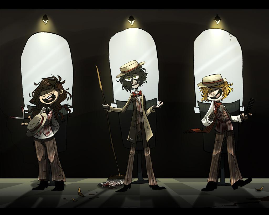barbershop trio by FailTaco
