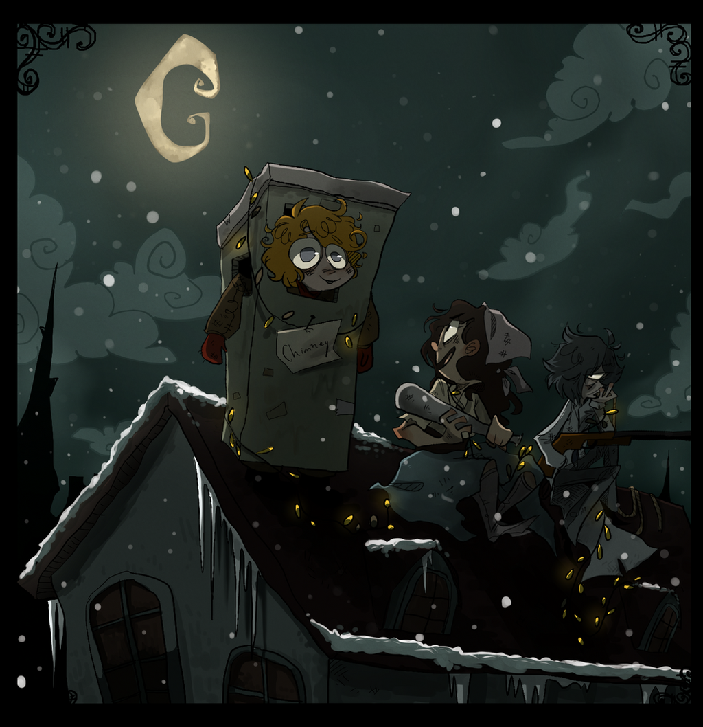 santa hunt by FailTaco