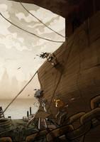 im a pirate by Zeddyzi