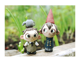Wirt and Greg Sculpts -UP FOR SALE- by Zeddyzi