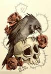 Crow Thingy by Zeddyzi