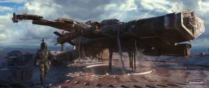 Keyframe - Boba Fett Spaceship - Star Wars
