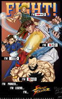 Street Fighter 25th by JonathanBN