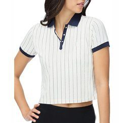 Wholesale-black-and-white-crop-polo-t-shirt by ackleeteez12