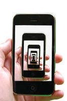 Escher's iPhone background by tehsuperscheez