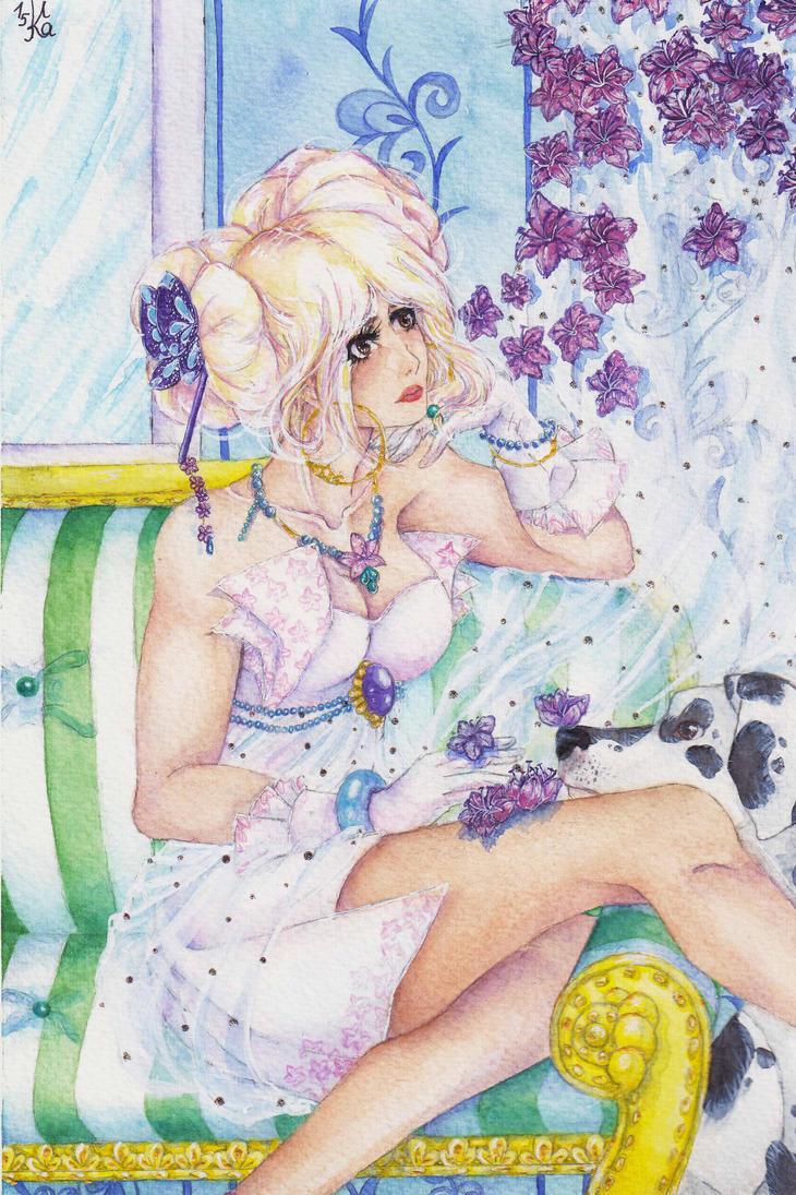 Azalea -  fine flower of magic by Kait-Kuroi
