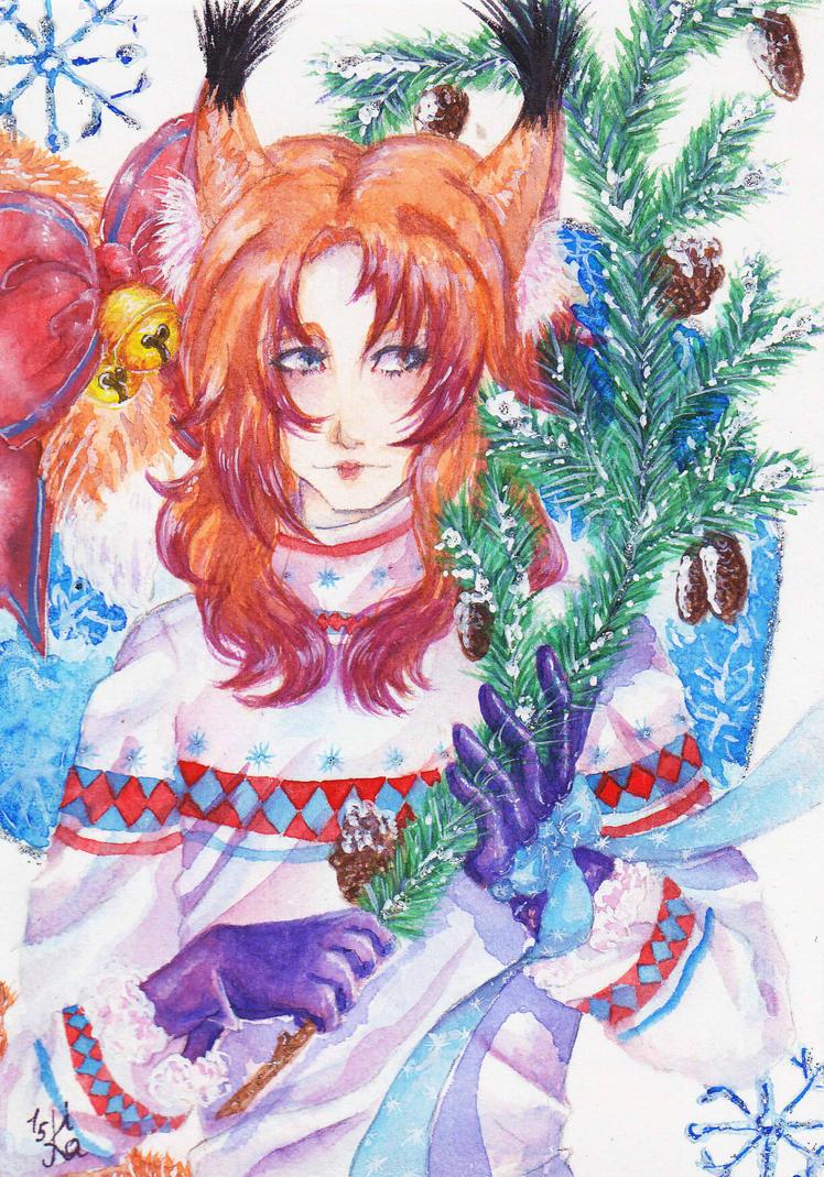 New Year's fairy tale by Kait-Kuroi