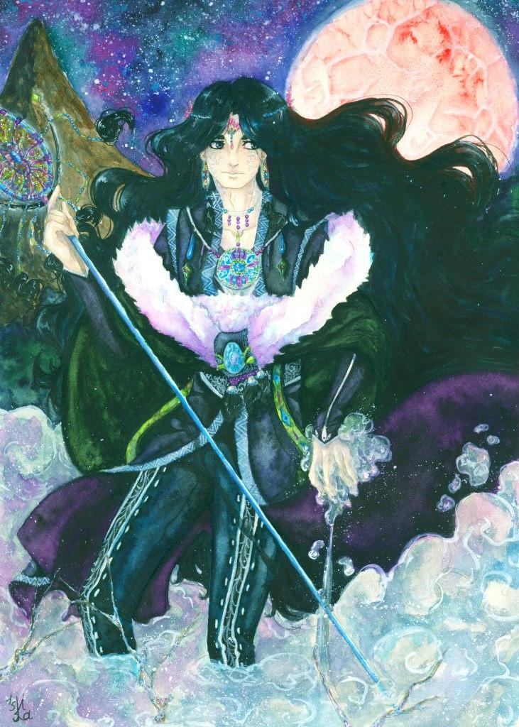 Night magic by Kait-Kuroi